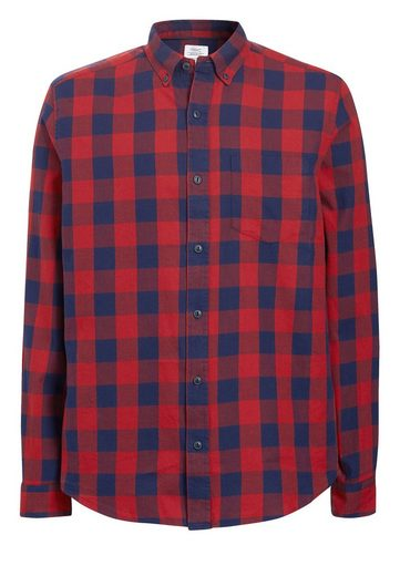 Next Langärmeliges Hemd mit Buffalo-Karo