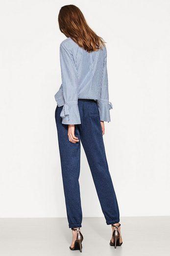 ESPRIT Jogg-Pants aus meliertem Jersey/Stretch