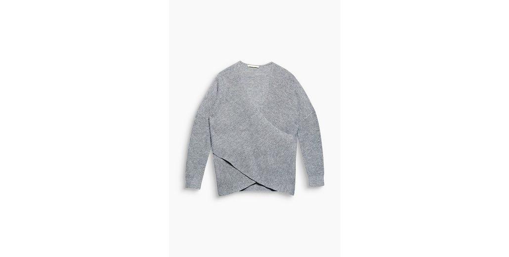 Große Auswahl An Billig Verkauf 2018 Neue ESPRIT Lässiger Wickel-Pullover mit Kaschmir Aussicht Offizielle Seite Günstig Online Sehr Billig Günstig Online T39FKMJ1