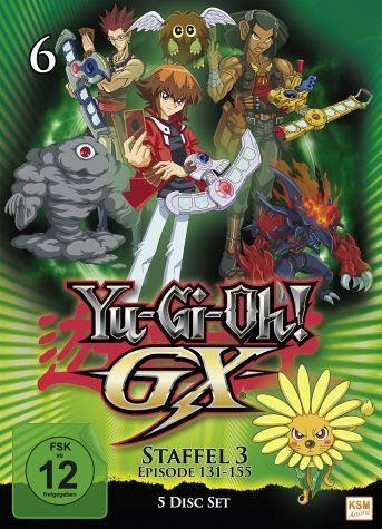 DVD »Yu-Gi-Oh! GX - Staffel 3, Box 2 (5 Discs)«