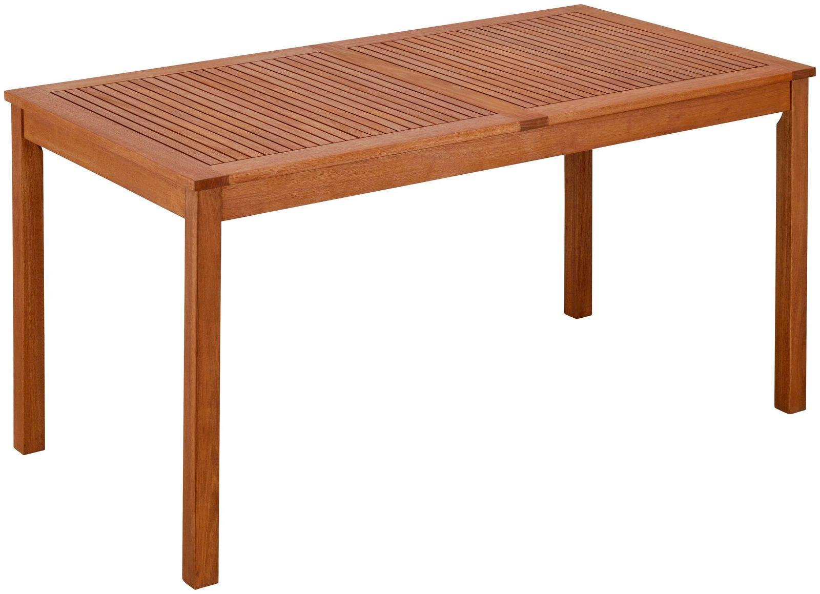 Gartentisch »Melbourne«, Eukalyptusholz, braun
