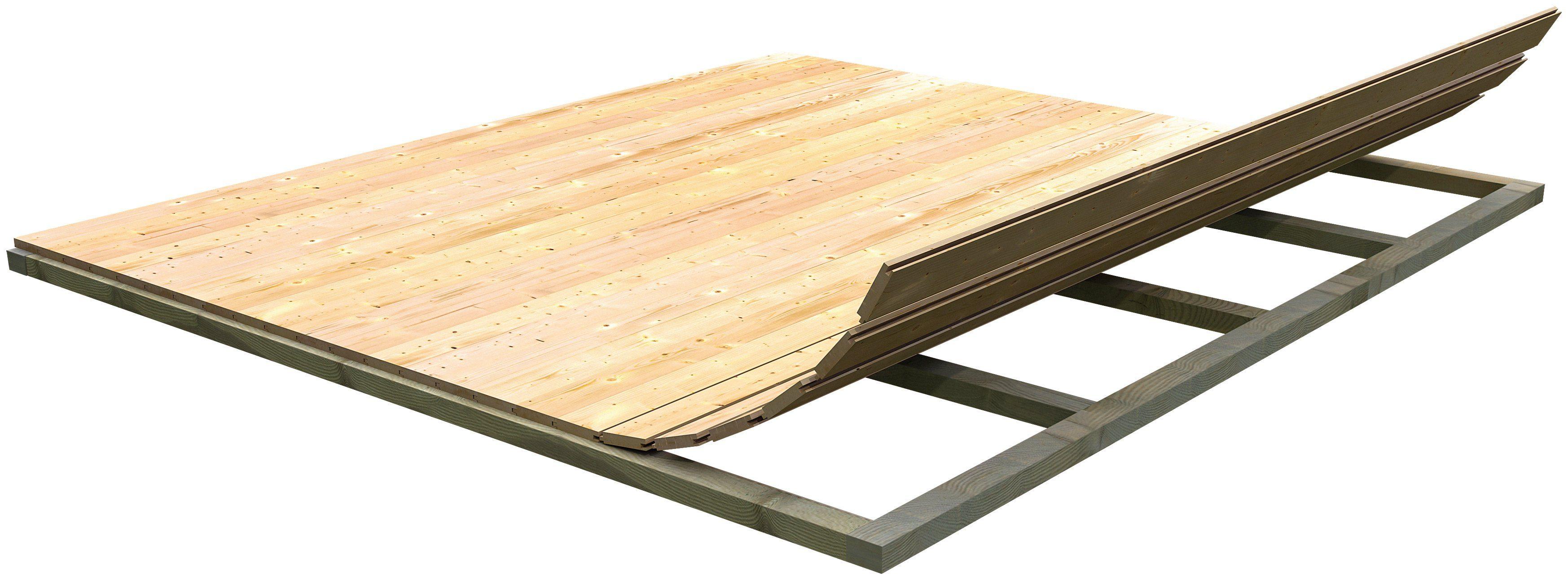 KONIFERA Fußboden für Gartenhäuser »Mühlheim«, BxT: 460x460 cm