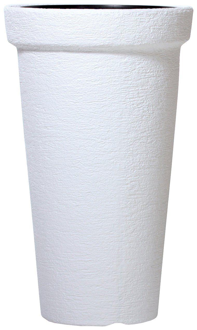 PROSPERPLAST Pflanzkübel »Classic Tower«, ØxHöhe: 40x63 cm, weiß