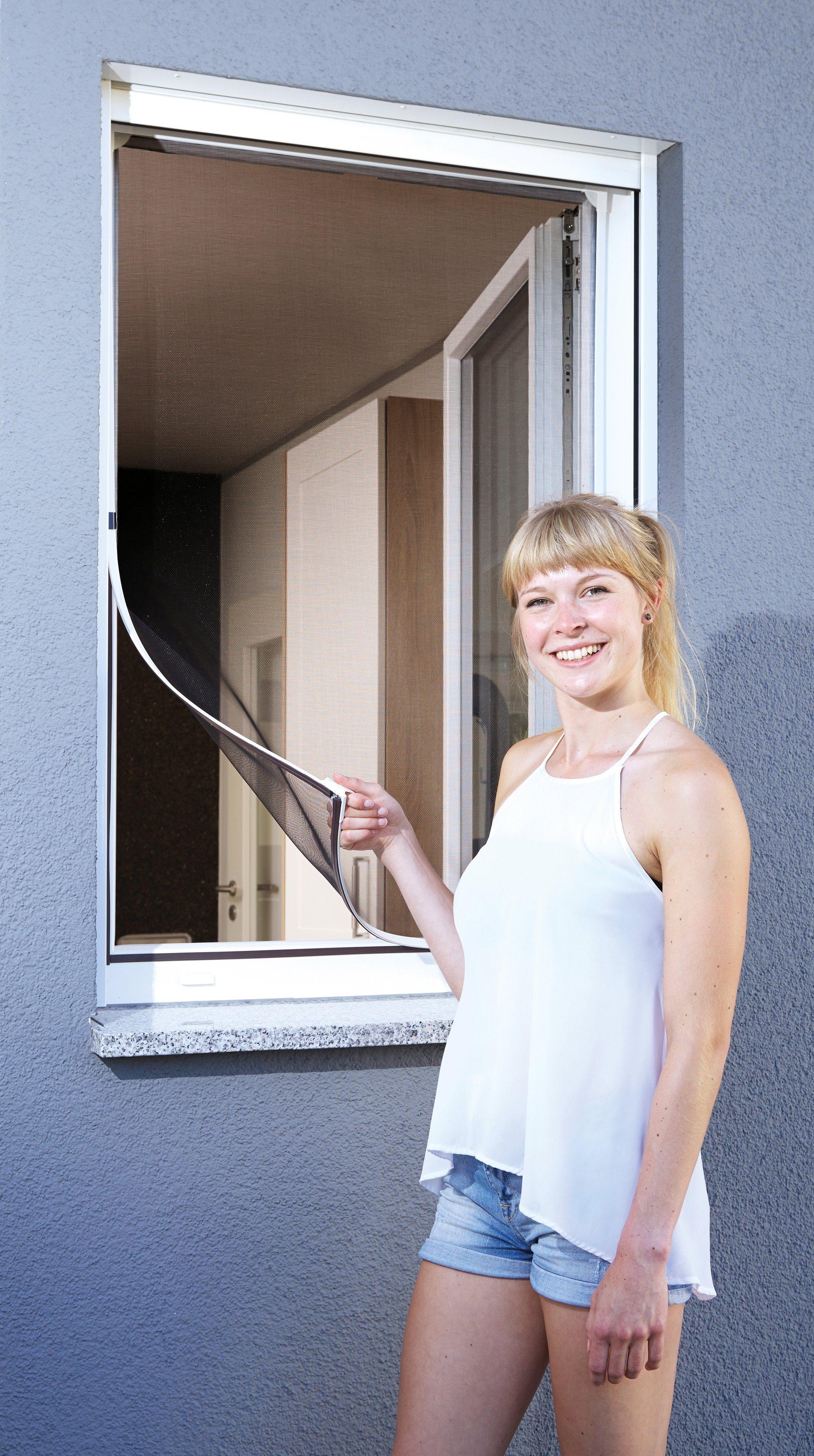 SCHELLENBERG Insektenschutz-Fenster »Magnet«, BxH: 120x120 cm, weiß