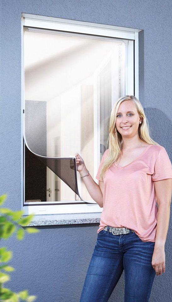 schellenberg insektenschutz fenster magnet bxh 100x120 cm wei befestigung mit. Black Bedroom Furniture Sets. Home Design Ideas