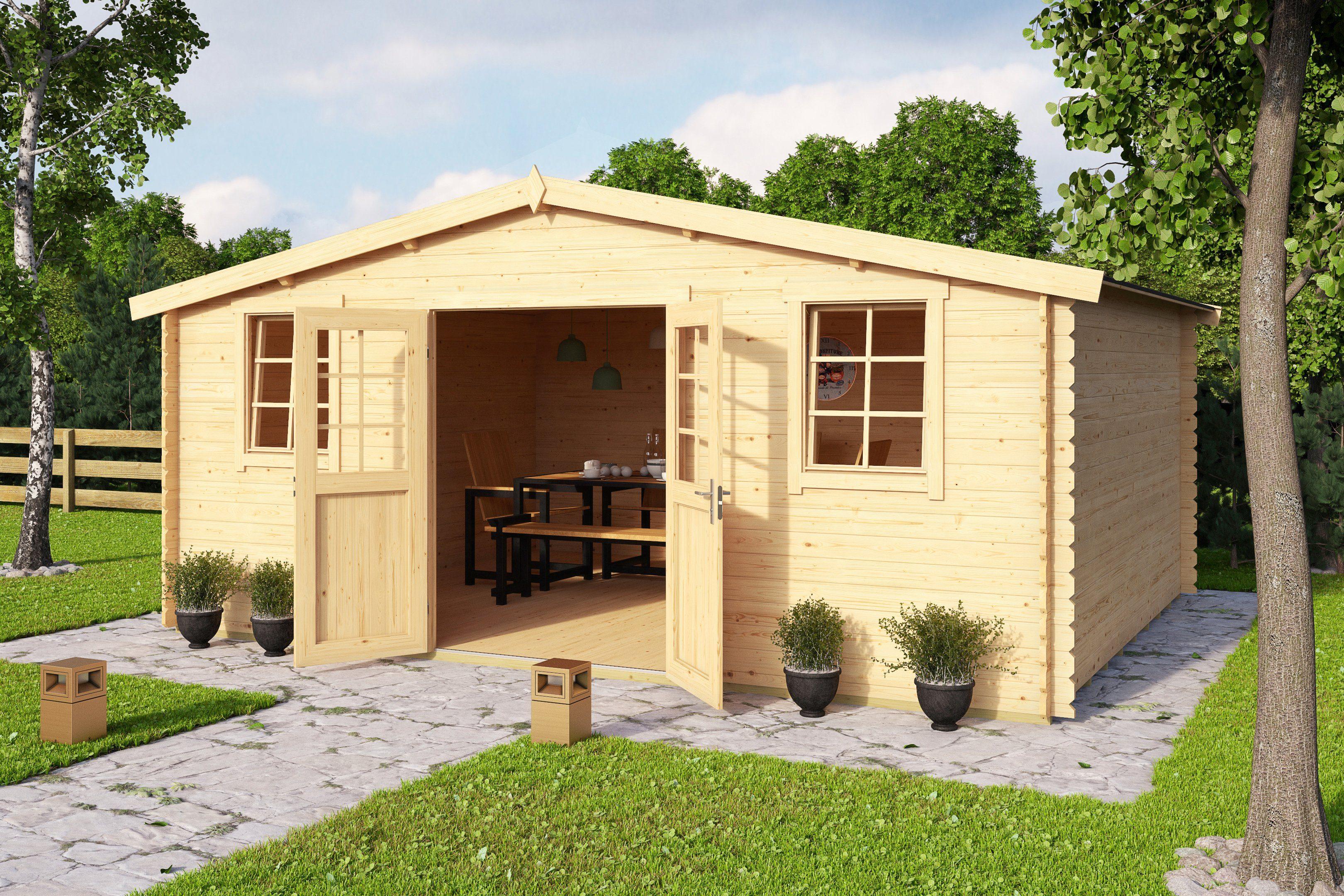 Fußboden Gartenhaus Holz ~ Outdoor life products gartenhaus mosel « bxt cm inkl
