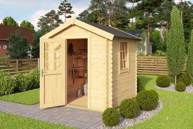 OUTDOOR LIFE PRODUCTS Gartenhaus »Mosel 1«, BxT: 220x220 cm, inkl. Fußboden