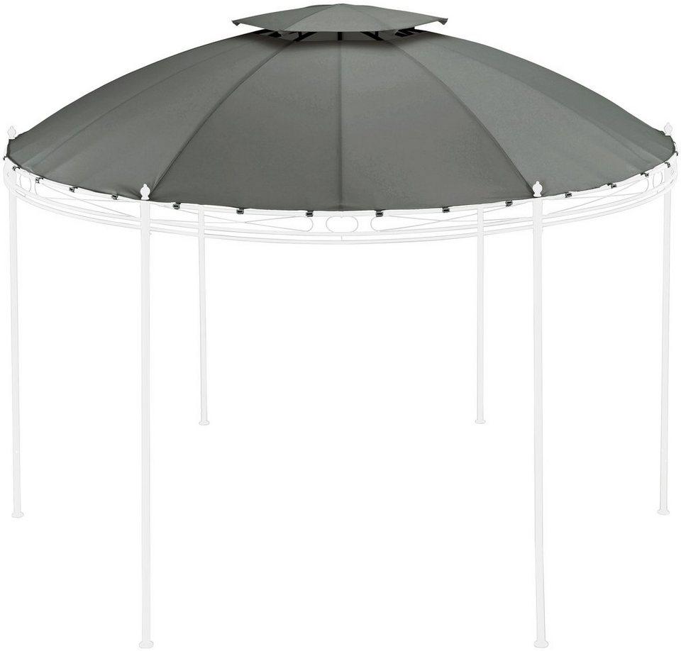 konifera ersatzdach f r pavillon tino 1 350 x 350 cm grau online kaufen otto. Black Bedroom Furniture Sets. Home Design Ideas