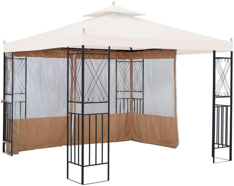 konifera seitenteile f r pavillon royal f r 3x3 m 2 stk mit fenster online kaufen otto. Black Bedroom Furniture Sets. Home Design Ideas
