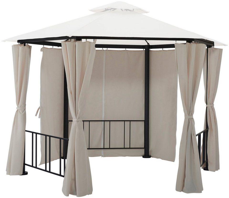 seitenteile f r pavillon hexagon sandfarben 6 stk online kaufen otto. Black Bedroom Furniture Sets. Home Design Ideas