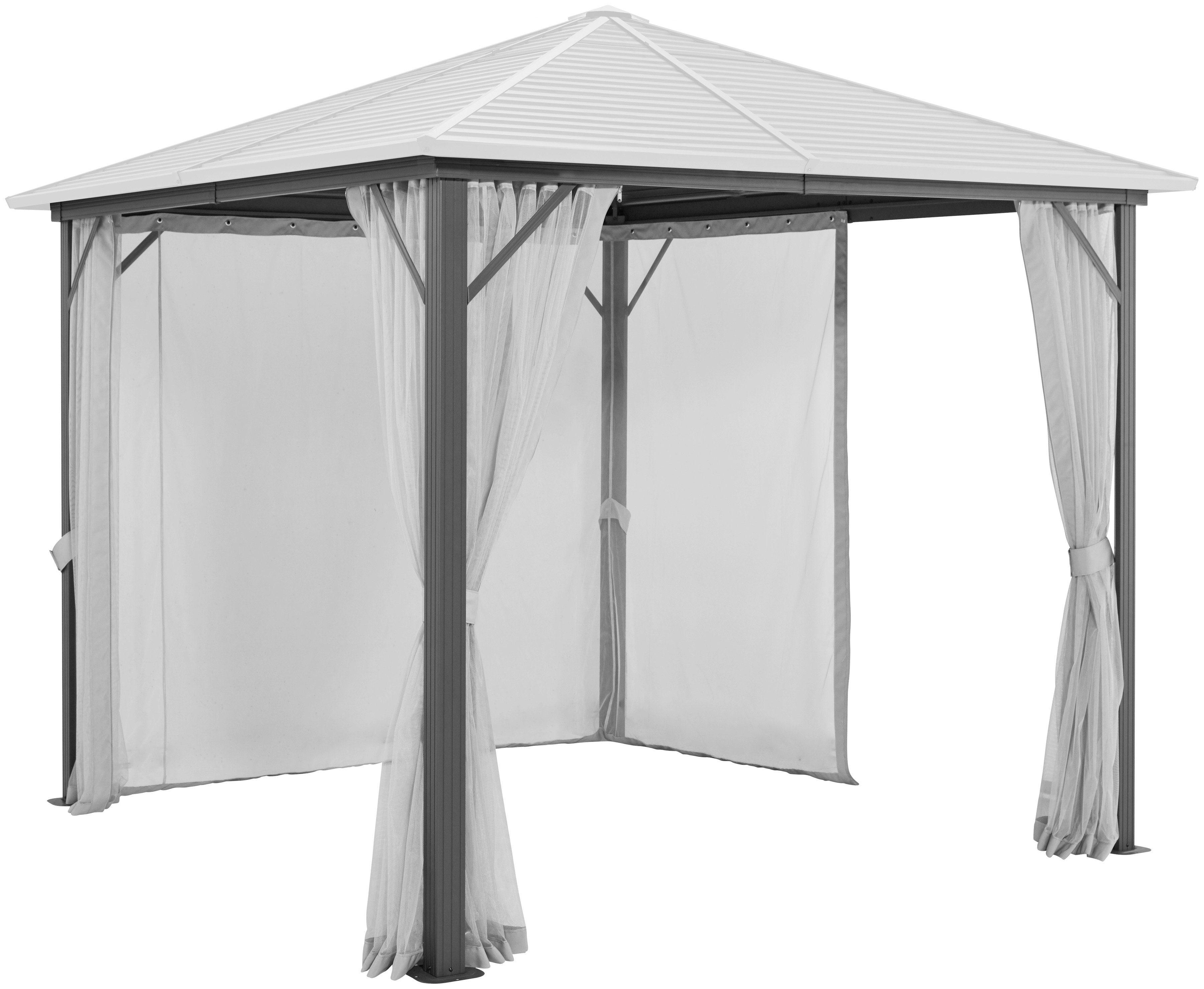 Seitenteile für Pavillon »Barbados«, für 3x3 m, 4 Stk., mit Moskitonetz