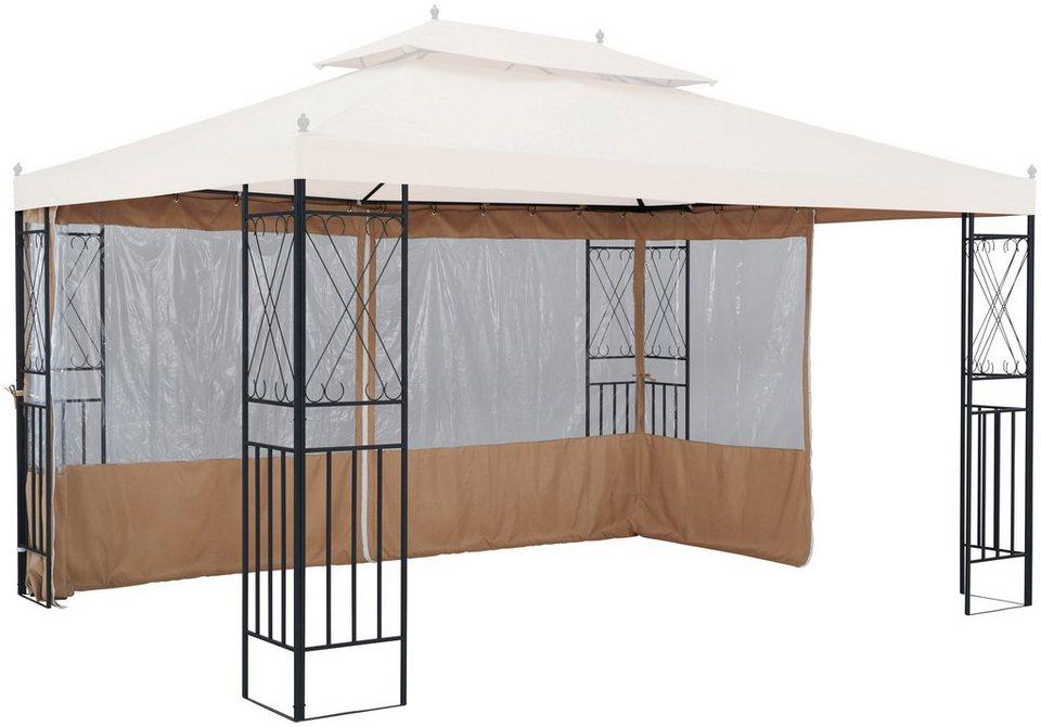 seitenteile f r pavillon royal f r 3x4 m 2 stk mit fenster online kaufen otto. Black Bedroom Furniture Sets. Home Design Ideas