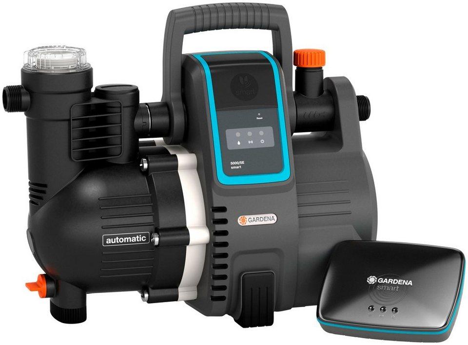 gardena set hauswasserautomat smart pressure pump 5. Black Bedroom Furniture Sets. Home Design Ideas