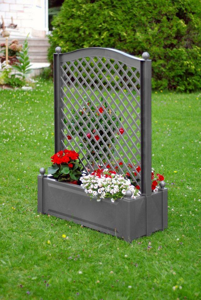 khw spalier mit pflanzkasten bxtxh je 100x43x140 cm online kaufen otto. Black Bedroom Furniture Sets. Home Design Ideas
