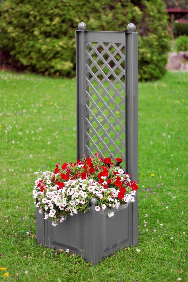 khw spalier mit pflanzkasten bxtxh 43x43x140 cm online kaufen otto
