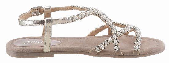 Sandale Xyxyx, Avec De Belles Perles