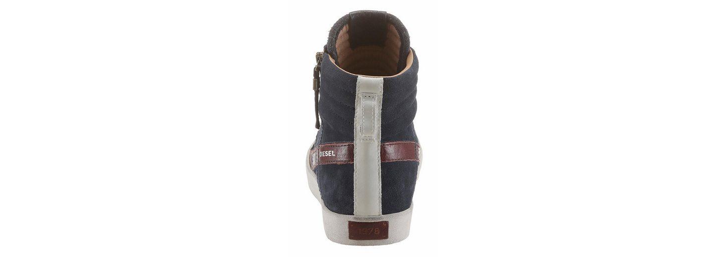 Diesel D-String Plus Sneaker, mit praktischem Außenreißverschluss