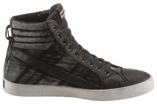 Diesel D-String Plus Sneaker, mit praktischem Außensreißverschluss