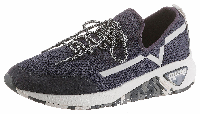 Diesel S-KBY Sneaker, mit stylischer Laufsohle im Camouflage-Look online kaufen  blau