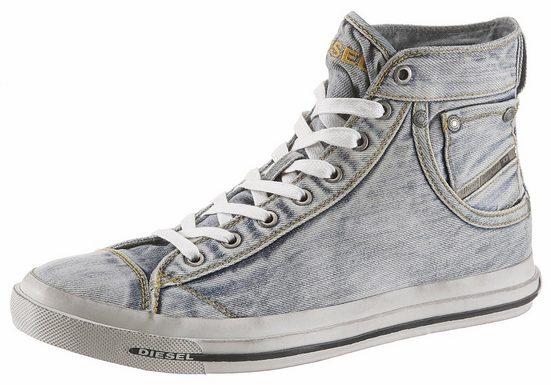 Diesel Exposure I Sneaker, im lässigen Jeans-Look