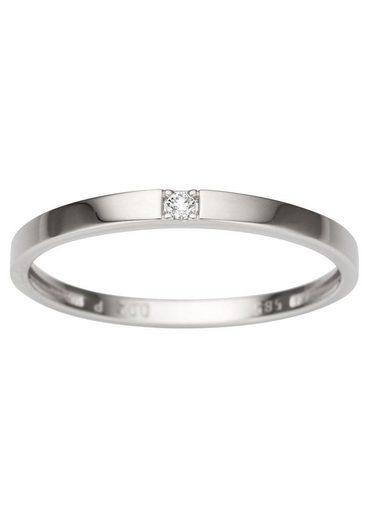 Firetti Diamantring »Solitär«, mit Brillant