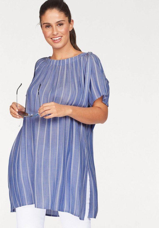 Zizzi Tunika Offshoulder Design | Bekleidung > Tuniken > Sonstige Tuniken | Blau | Zizzi
