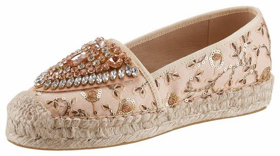 Xyxyx Espadrille, With Beautiful Embroidery