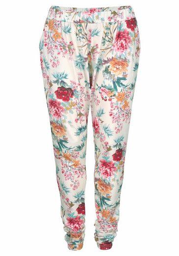 Zhenzi Jogger Pants, mit floralem Print