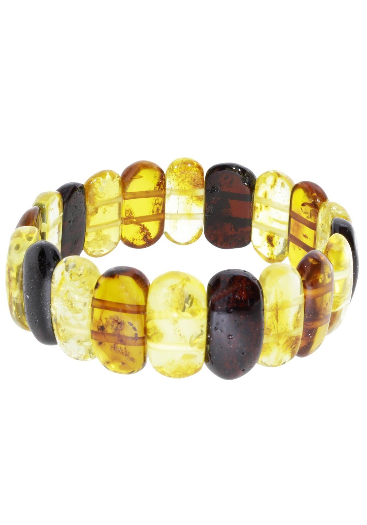 OSTSEE-SCHMUCK Armband »051 415063 0110« mit Bernsteinen