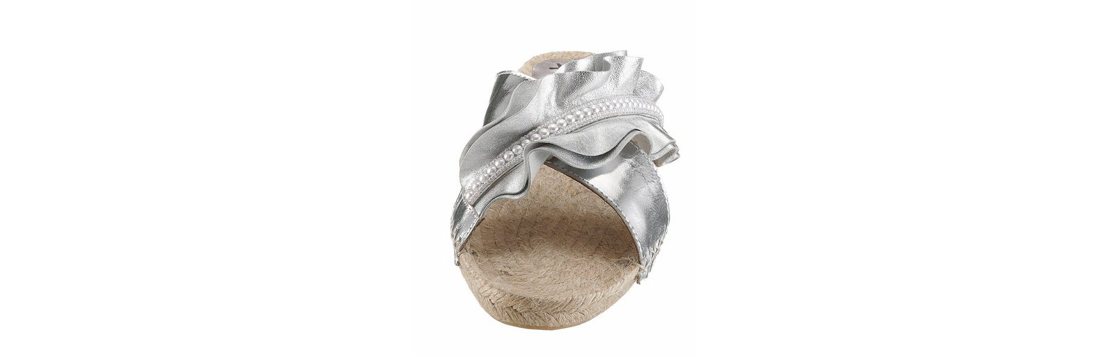 XYXYX Pantolette, im Metallic-Look