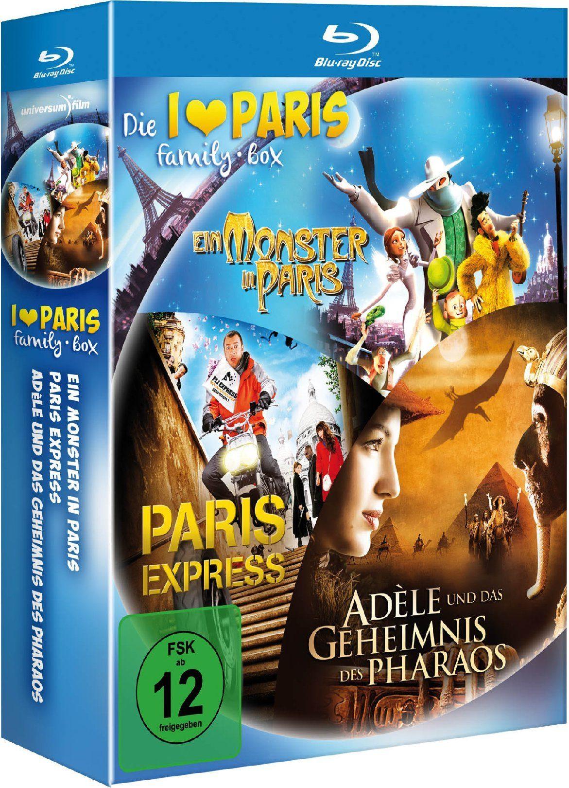universum I Love Paris Family-Box »Blu-ray«