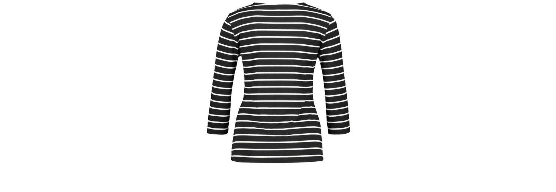 Pay Online Mit Visa Gerry Weber T-Shirt 3/4 Arm 3/4 Arm Shirt mit Ringel und Blüte Mehrfarbig Niedrige Versand Online Neue Ankunft Günstiger Preis wbn3pqp3KK
