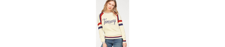 Tommy Jeans Pullover TJW CN SKI SWEATER L/S 18 Billige Visum Zahlung Kostenloser Versand Zu Kaufen Billig Verkauf Vermarktbare Sneakernews Zum Verkauf 100% Garantiert 3T8rPwN