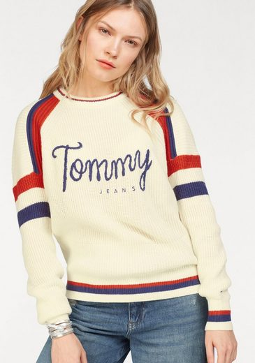 Tommy Jeans Pullover Tjw Cn Ski Sweater L/s 18