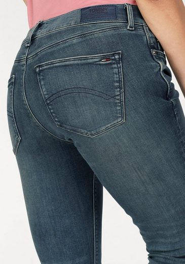 Tommy Jeans Jeans Mid Rise Sk Nora 7/8 Zip Splblst