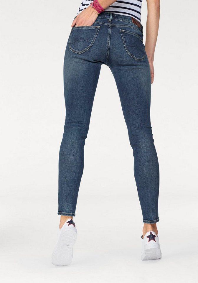 c6e3a7f6a5e94e Hilfiger Denim Damen Skinny Jeanshose Low Rise Sophie Scst - Image ...
