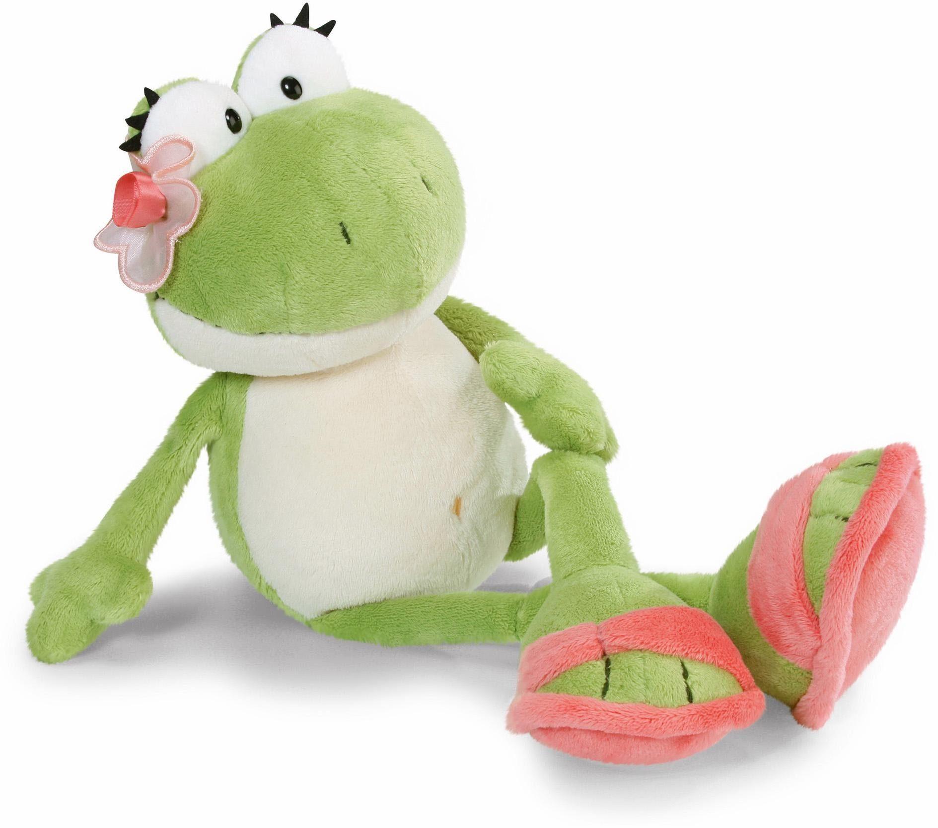 NICI Plüschtier, »Frosch Mädchen, schlenkernd, 25 cm«