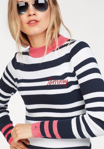 Tommy Jeans Pullover Tjw Cn Stripe Sweater L/s 15
