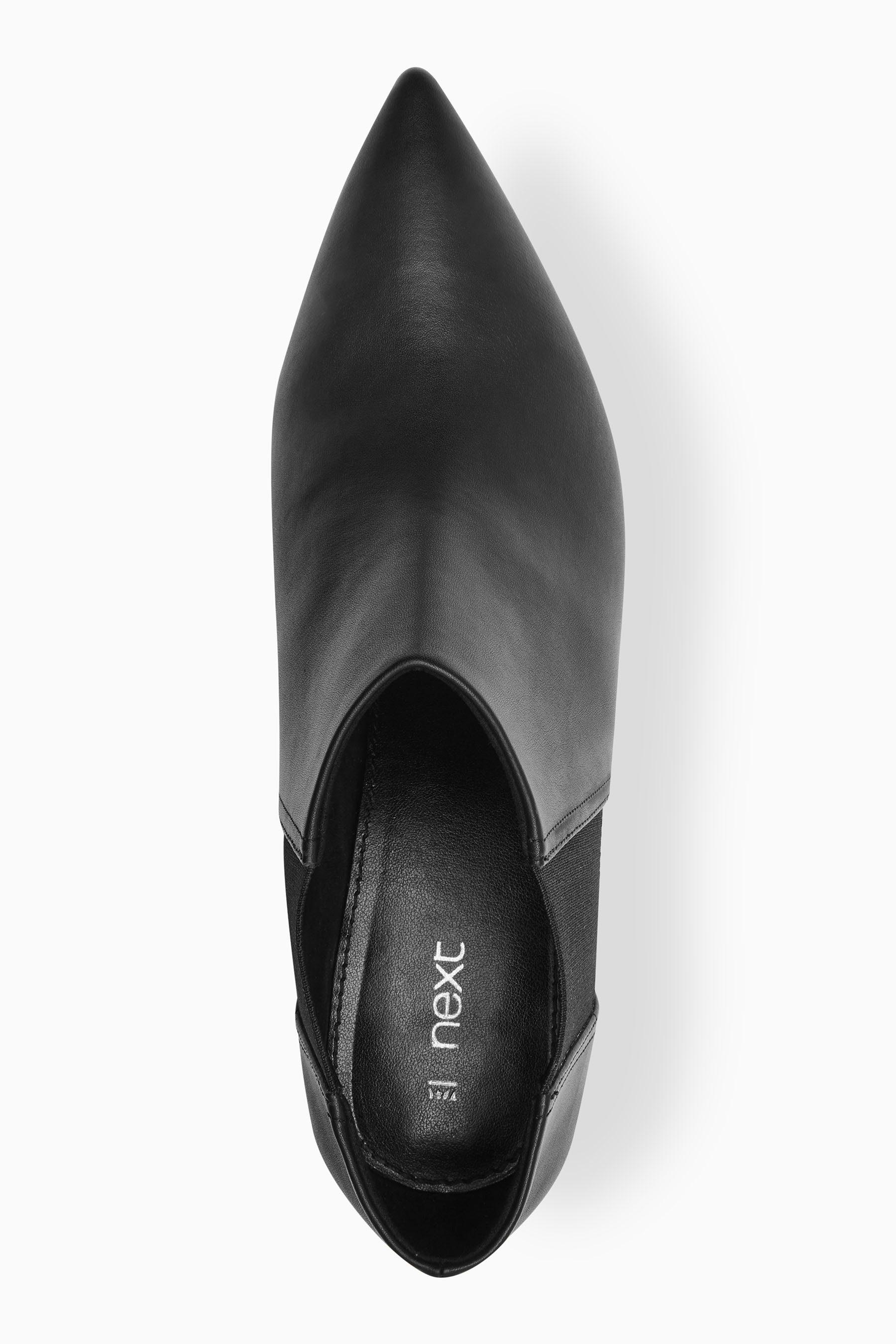 Next Mittelhohe Stiefelette mit spitzer Zehenpartie online kaufen  Black