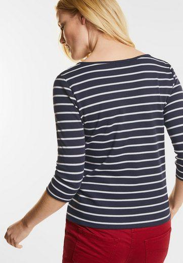 CECIL Streifenshirt im Basic Style