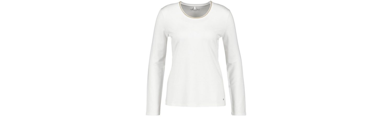 Gerry Weber T-Shirt 3/4 Arm Longsleeve mit Lurexblende Neue Ankunft Online Erscheinungsdaten Günstigen Preis yyfdS