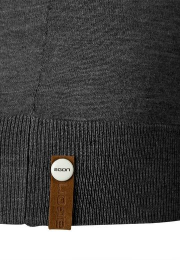 Agon® Cardigan With Total-easy-care Treatment