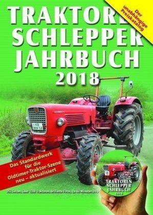 Broschiertes Buch »Traktoren Schlepper Jahrbuch 2018, m. DVD«