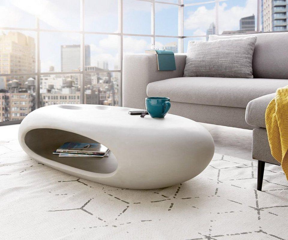 Delife wohnzimmertisch rock grau 135x65 cm beton optik online kaufen otto - Wohnzimmertisch anthrazit ...