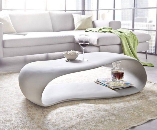 delife wohnzimmertisch rock grau 120x60 beton optik online. Black Bedroom Furniture Sets. Home Design Ideas