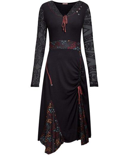Joe Browns Jerseykleid Joe Browns Women's Long Sleeve Casual Dress with Ruched Side