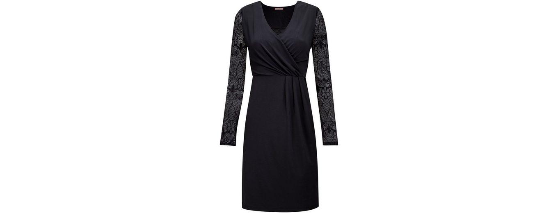 Joe Browns Wickelkleid Joe Browns Women's Black Wrap Dress with Lace Sleeves Aus Deutschland Niedrig Versandkosten Viele Arten Von Günstiger Online 2eBbOp9nh7