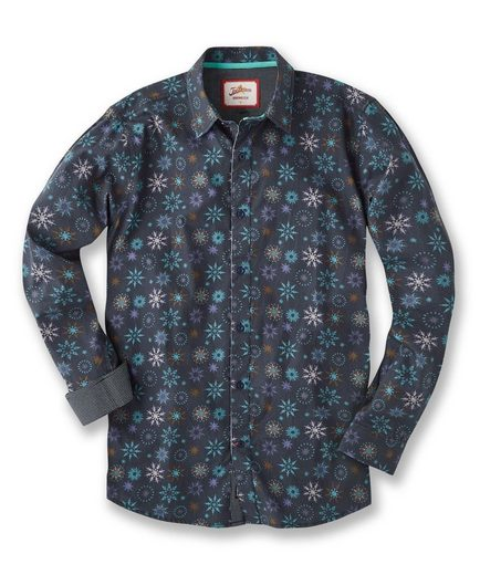 Joe Browns Hemd Joe Browns Men's Festive Print Shirt