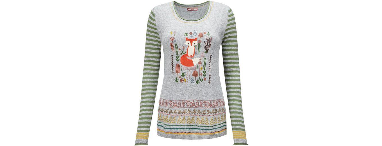 Joe Browns Rundhalspullover Joe Browns Women's Knitted Fox Print Jumper Amazonas gBdgvU