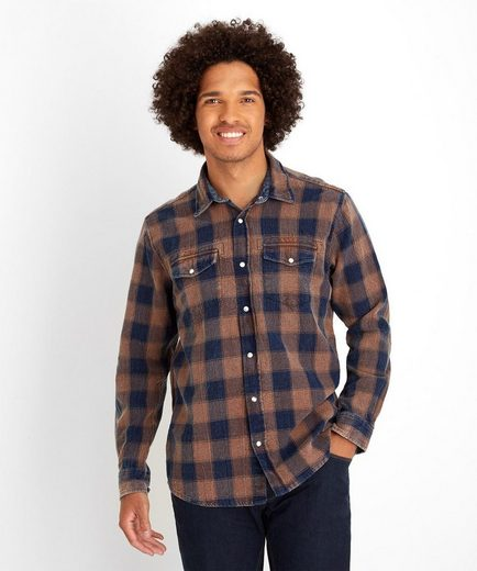 Joe Browns Hemd Joe Browns Men's Casual Long Sleeved Checked Shirt